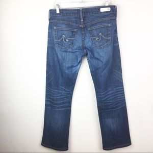 AG Adriano Goldschmied Tomboy Straight Leg Jeans